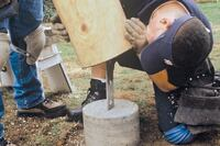 Building Decks with Log Posts