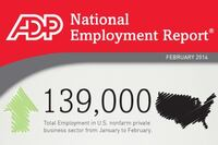 ADP Reports 139,000 Jobs Added in February; 14,000 in Construction
