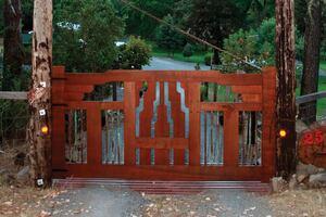 Craftsmanlike Gate