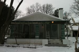 The state-of-the-art Active House, due to be completed this spring, will replace a drafty 67-year-old bungalow.
