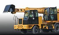 Automatic transmission hydraulic excavator