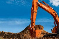 The New ZX300LC-6 Excavator from Hitachi