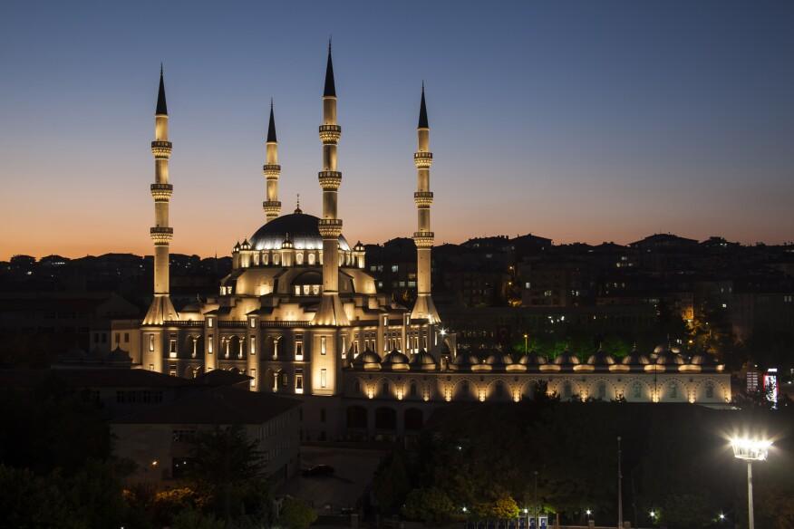 The Kirikkale Merkez Nur Mosque, Kirikkale, Turkey