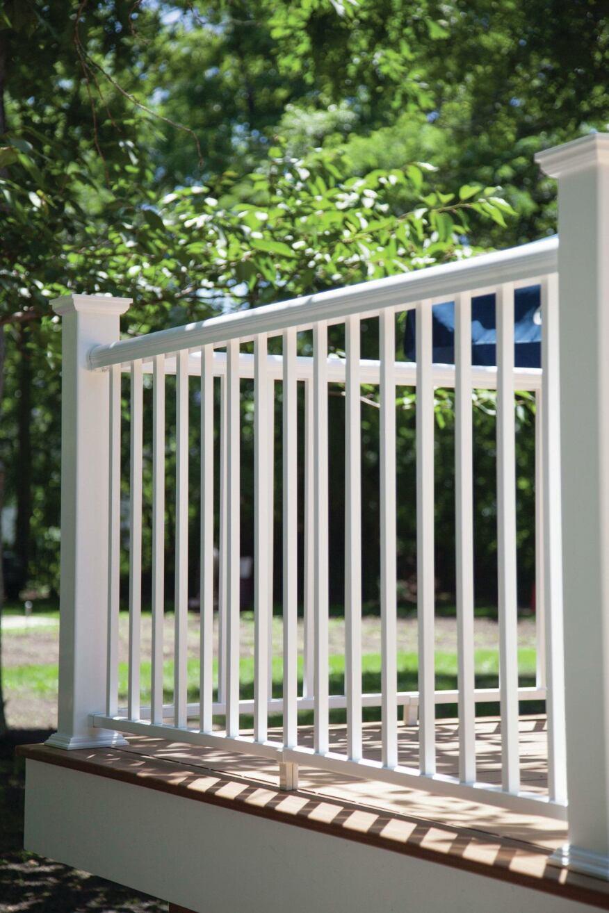 Avalon aluminum railings professional deck builder