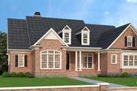 FourPlans: Timeless Brick Curb Appeal from Frank Betz