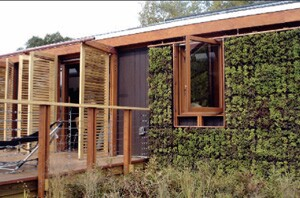The University of Maryland's LEAFHouse, which features a sensor network that monitors indoor climate, won second place.
