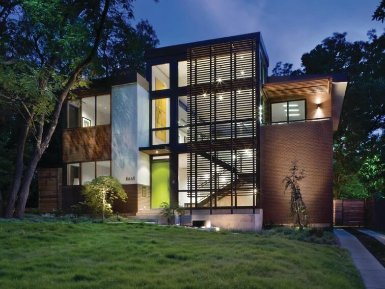 Merit Award: Labron Residence, Dallas