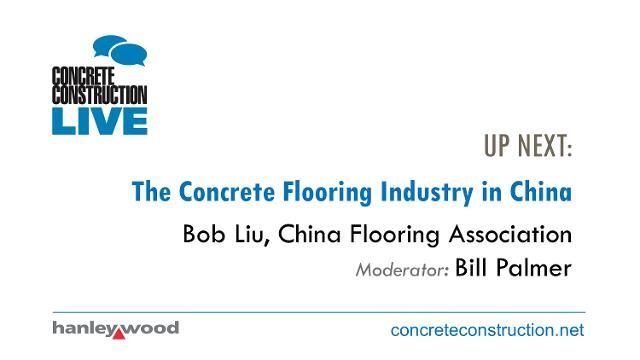 The Concrete Flooring Industry in China