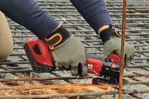 Editors' Choice: Hilti + AG 500-A18 Cordless Cut-Off Tool