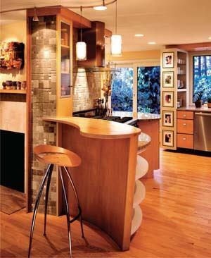 An inviting kitchen and a sunny, comfortable remodel/addition by Wolfworks exemplify the company's longtime focus on individual design needs and high-quality construction practices.