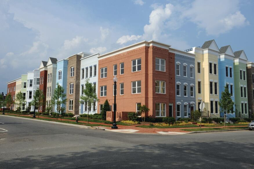Classic Conservation: EYA designed Leed-certified row houses at Capitol Quarter in Washington, D.C.