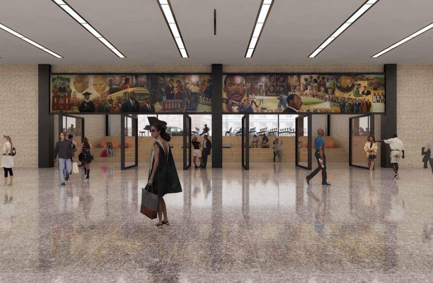 Proposed Great Hall renovation option. (Jan. 2015)
