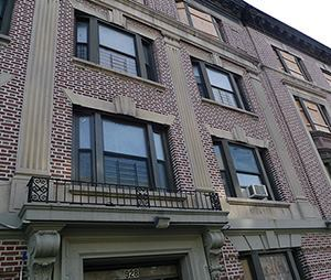 Once the pride of the neighborhood, five walkup apartment buildings on Kelly Street were bought by a speculator who lost them to foreclosure during the housing crash. Now, they are being rehabbed into affordable housing.