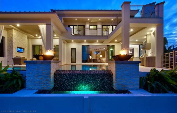 Fourplans totally modern luxury homes builder magazine for Contemporary luxury home designs