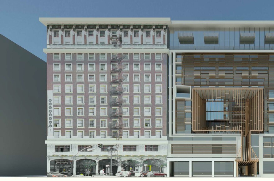 433 S Main Street Mixed Use Building Architect