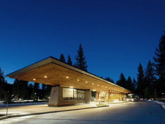 Tahoe City Transit Center, Tahoe City, Calif., by WRNS Studio