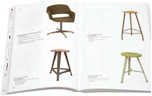 BOOK   Chairs: Catalogue of the Delft Faculty of Architecture Collection  By Otákar Mácel, Sander Woertman, and Charlotte van Wijk  For more than a century, the faculty of architecture at the Technische Universiteit Delft has been collecting chairs. All kinds of chairs: 17th, 18th, 19th, and 20th century chairs; household chairs; rare chairs; work chairs; baby chairs; and even African milking stools. Managed over the decades with varying degrees of attentiveness, the whole collection has recently been conserved and cataloged. Unfold the catalog's dust jacket into a full-color poster of all 240 chairs. Uitgeverij 010; Ç€24.50