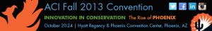 Live Webinars from the ACI Fall 2013 Convention