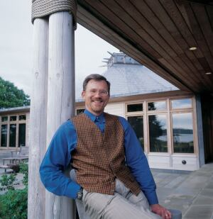 Mark Hutker's design for the Menemsha Pond house attracted more conceptual projects to the firm.