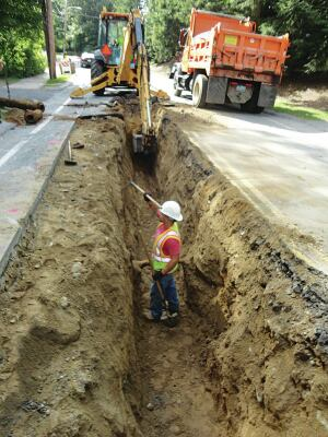 In October 2013, the town finished installing 25 drainage structures and more than 1,000 linear feet of 12- to-24-inch drainage pipe on a collector road.