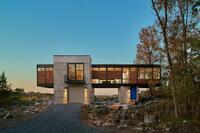 A Contemporary Bridge Home in West Virginia