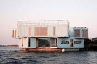 BIG Stacks Shipping Containers to Create Floating Student Housing