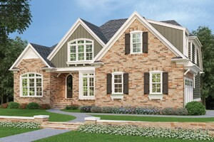 Four Homes Illustrate Brick's Timeless Curb Appeal