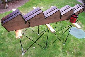 Portable and Collapsible Sawhorse