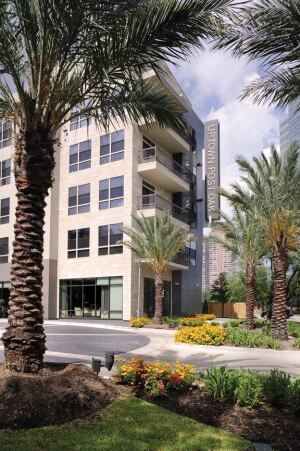 The 392-unit Uptown Post Oak in Houston is one of three acquisitions announced by Behringer Harvard in just three days.