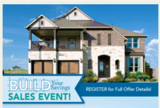 Gehan Homes Stages Sales Event