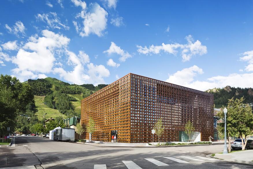 Aspen Art Museum in Aspen, Colo.