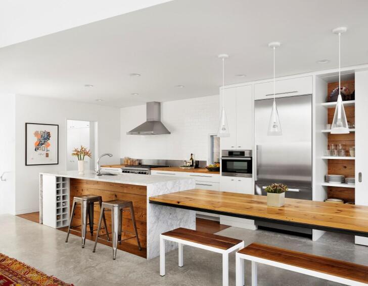 Hillside Residence Kitchen
