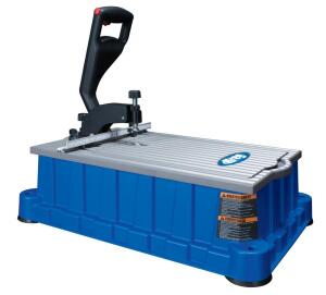 The new Foreman has a polyurethane base, an aluminum top, and a simplified fence and hold-down mechanism.