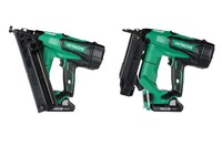 Two Hitachi Cordless Nailers