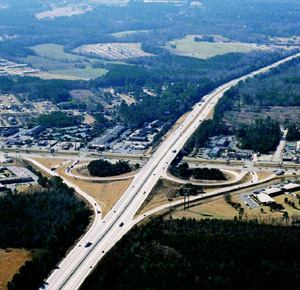 I-95, Darlington and Florence Counties, S.C. Winner: Divided Highways—Urban