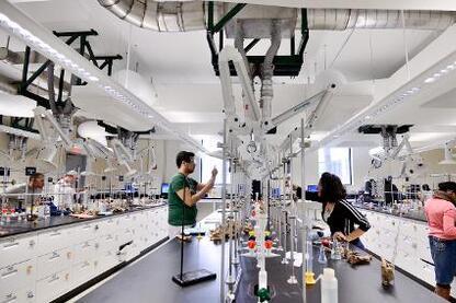Rutgers University Olson Chemistry Lab