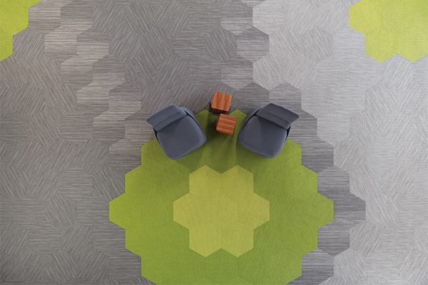 Shaw Contract Hexagon Carpet Tiles Vidalondon