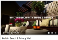 Video: Upgrade Your Customer's Deck with Built-in Bench & Privacy Wall