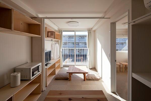 Onagawa Container Temporary Housing, Miyagi, Japan, 2011.