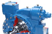 Blackmer SGLWD series pumps with double mechanical seals