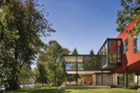 New Home Rises Above Its Challenging Riverfront Site