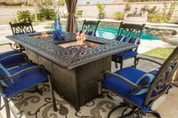 Summerset Casual Offers New Firepit Dining Table