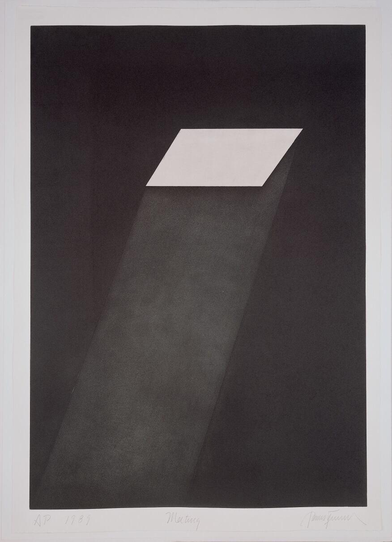 Meeting (from the portfolio First Light), 1989-90  Aquatint, 108 x 75.6 cm  Peter Blum Edition, New York  © James Turrell