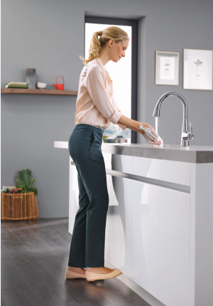 Grohe's Ladylux 3 Cafe faucet