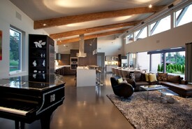 NW Contemporary Custom Kitchen