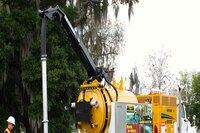 Two new truck-mounted vacuum excavators