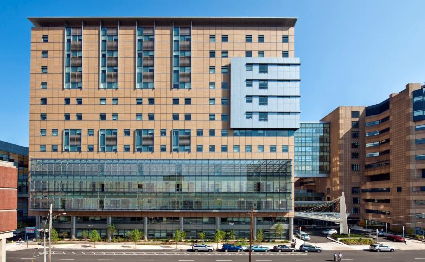 Yale University Smilow Cancer Hospital, Shepley Bulfinch, New Haven, Conn.