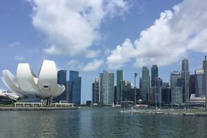 Zaha Hadid's Undulating Master Plan in Singapore