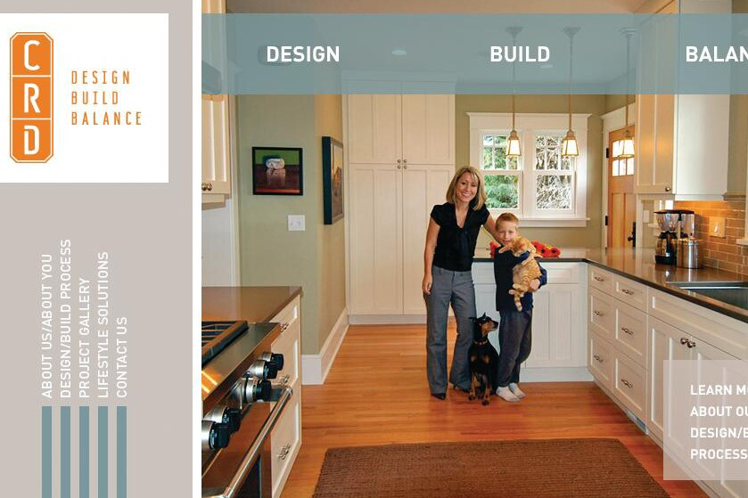 Recasting the Web: Two Remodeling Company Website Redesigns