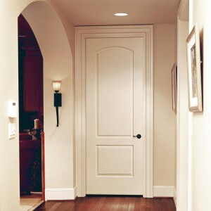Perfect Fit  With an even reveal and fresh look, Grand Markís door replacement technology can give a quick and affordable face-lift to any home.